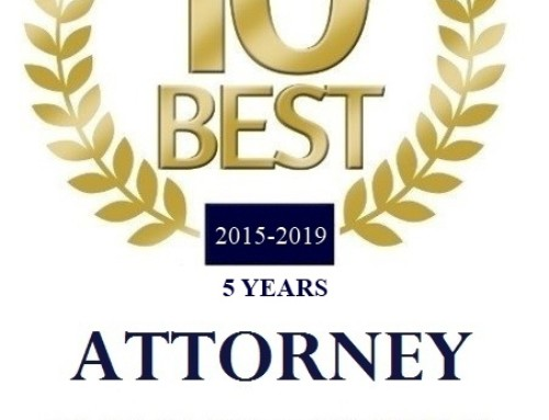 Victor R. Smith Has Been Nominated and Accepted as 2015-2019 AIOFLA'S10 Best in Florida For Client Satisfaction
